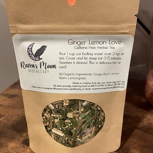 Ginger Lemon Love Tea