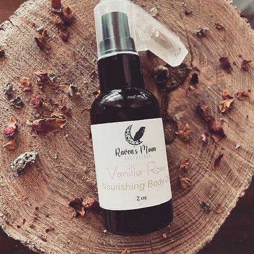 Vanilla Rose Massage Oil