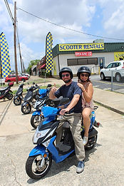 Fun Date experience with rentals from Uptown Scooter in Columbus, GA!