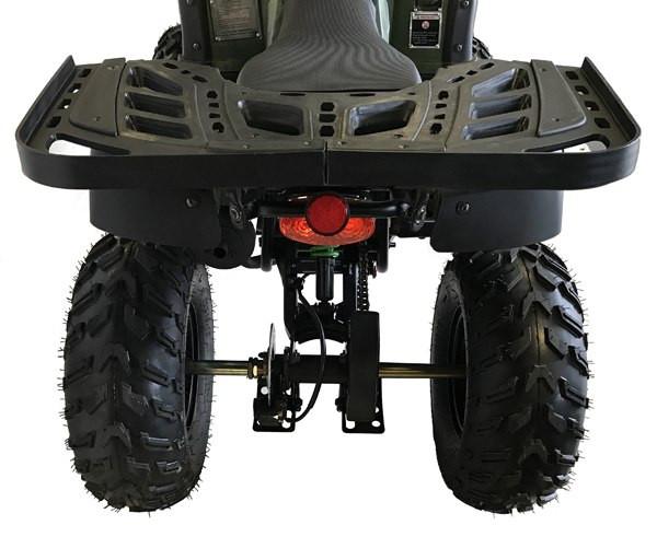 MT 150 UT 2 - Army Green (Back)