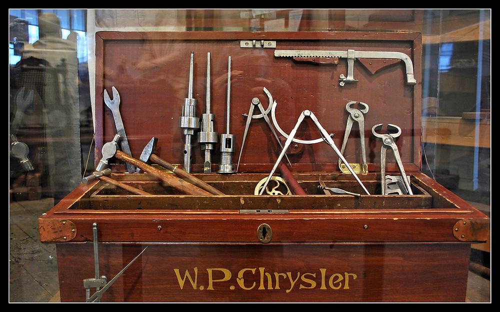 Walter P. Chrysler's Toolbox