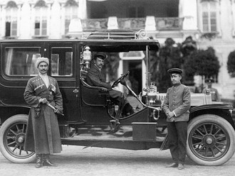 Adolphe Kegresse and The Half Track.