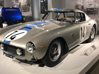 A special Ferrari 250 GT SWB SEFAC andthe gentlemen drivers who lead it to victory.
