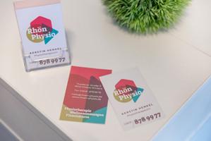 RHÖN PHYSIO Visitenkarten