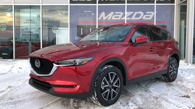 2018 Mazda CX-5 GT + Technology Package