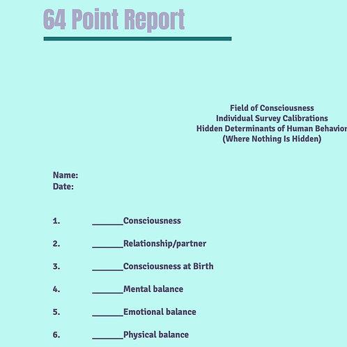 Consciousness Report-Full