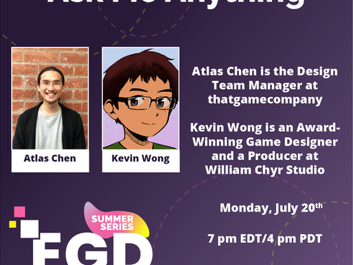Excited to Announce AMA Talks with Kevin James Wong, and Atlas Chen