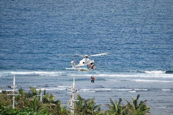 sea rescue yonehara coast ishigaki islan