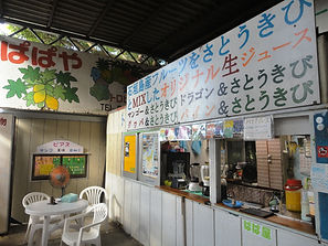 Papaya fresh juices shop Yonehara Ishigaki