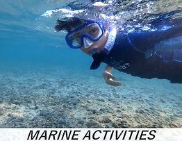 vacances a la mer Ishigaki marine activi