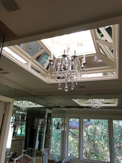 Ceiling mirrors