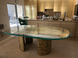Bevel Table top