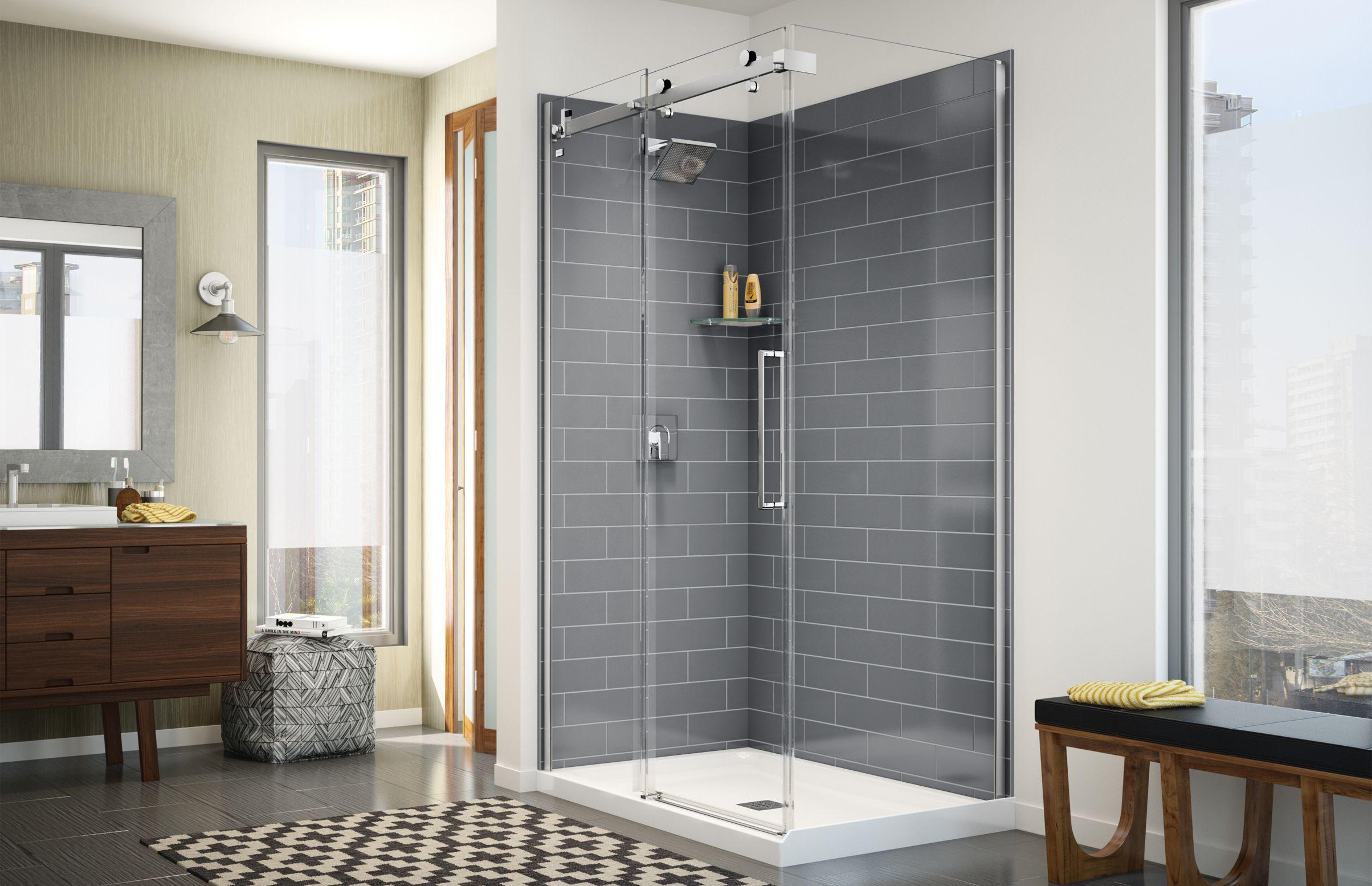 Sliding Shower Unit