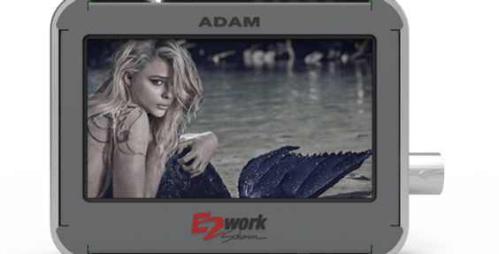 "ADAM 2.8"" Multi Format Potable Monitor for SDI"