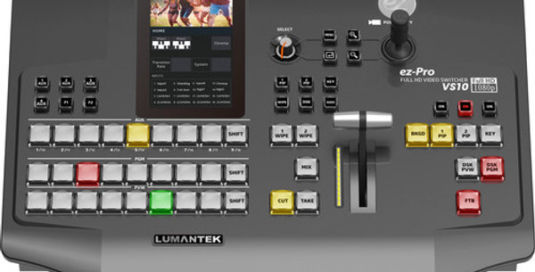 "Lumantek ez-Pro VS10 3G-SDI/HDMI Video Switcher with 5"" LED Touchscreen"