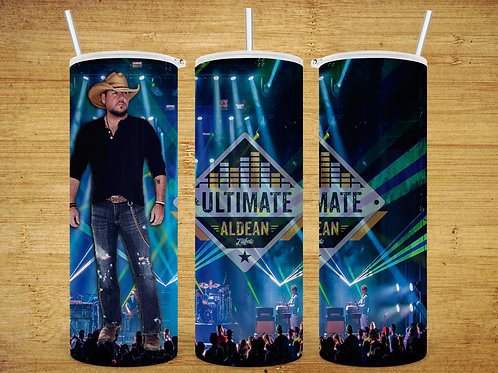 Ultimate Aldean Full Body 20 oz Tumbler