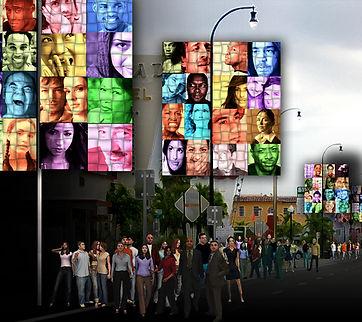 Artist Louis Dalmau's Art installation in Miami's Mimo District