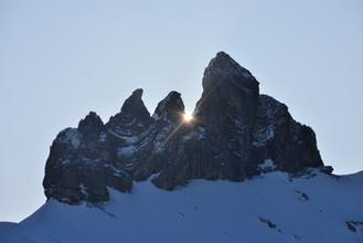 Winter auf der Lobhornhütte