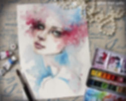 Sillier-Than-Sally_-Water-Colour-Art_30-
