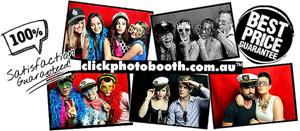 Click Photo booth Brisbane photo booth hire gold coast photo Sunshine coast photo booth hire Toowoomba photo booth rental
