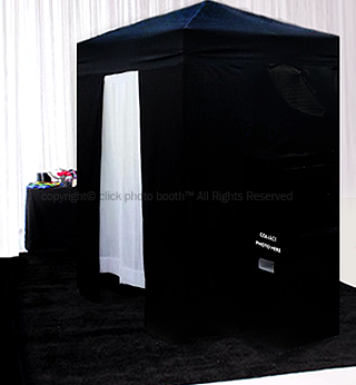 enclosed photo booth brisbane