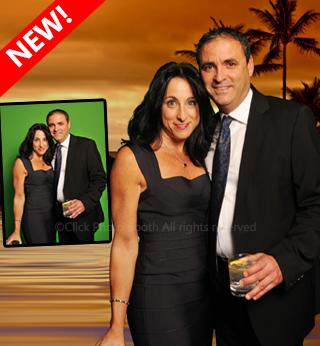 Green screen photo booth Brisbane