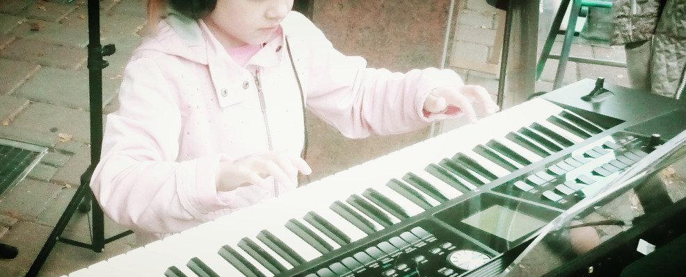 Klavier /Keyboard bei Yeva