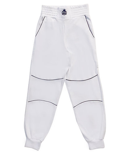 Logo Collection White Sweatpant