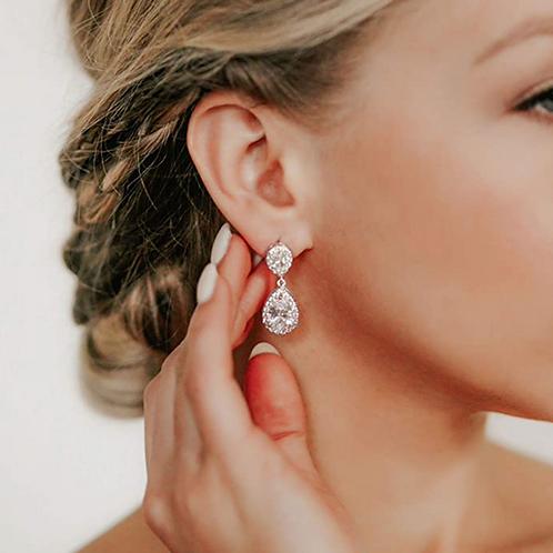 Aurelia Tear Drop Earrings