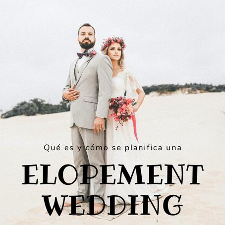 ¿Qué es y cómo se planifica una Elopement Wedding?