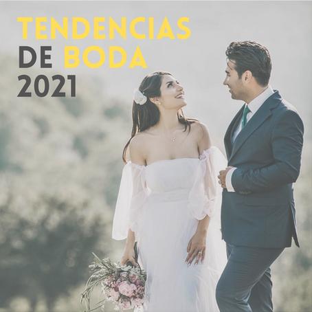 Tendencias de Boda 2021