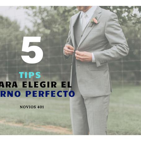 5 Pasos para elegir el Terno Perfecto