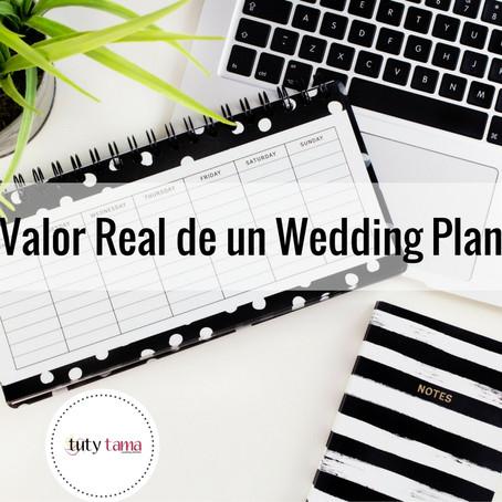 El Valor Real de un Wedding Planner