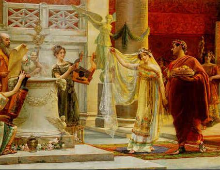 Un Matrimonio de Patricios Romanos en el año 215 a.C. (Cuarta  Parte)