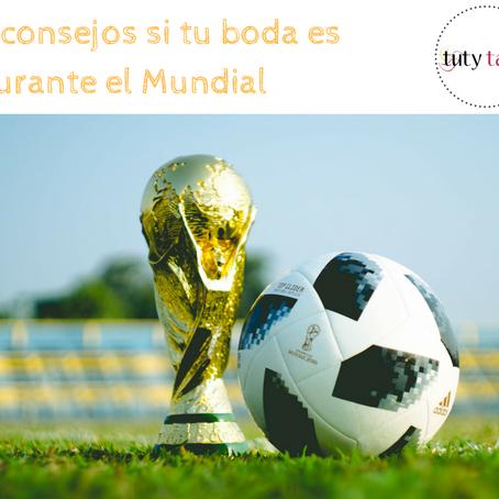 5 Consejos si tu Boda es durante el Mundial