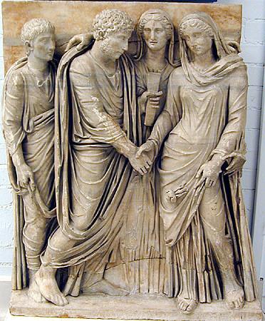 Un Matrimonio de Patricios Romanos en el año 215 a.C. (Sexta  Parte)