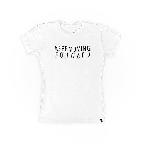 Keep Moving Forward - Women's Tee (Blanca)