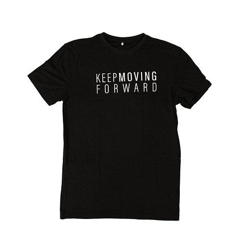 Keep Moving Forward - Men's Tee (Negra)