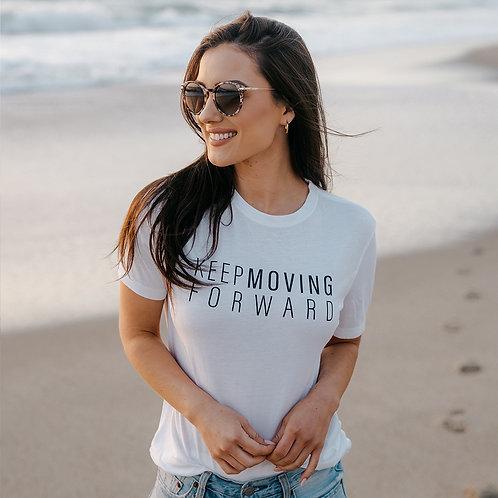 Keep Moving Forward - Bamboo T Shirt (W)