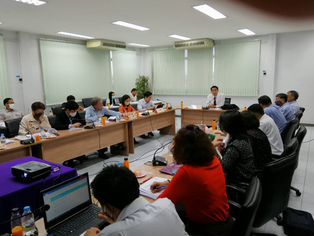 Department of Fisheries and TSFR meeting to update information for FIP in the Gulf of Thailand.