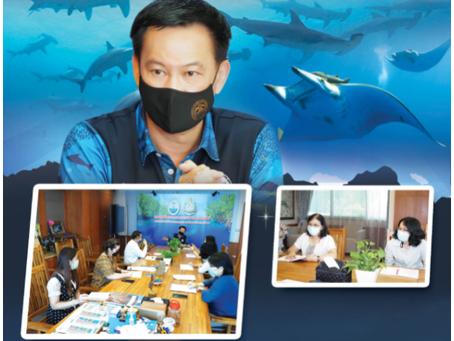 TCSC monitors the progress of marine animal nominations