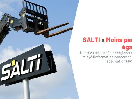 SALTI communique sur sa labellisation MASE