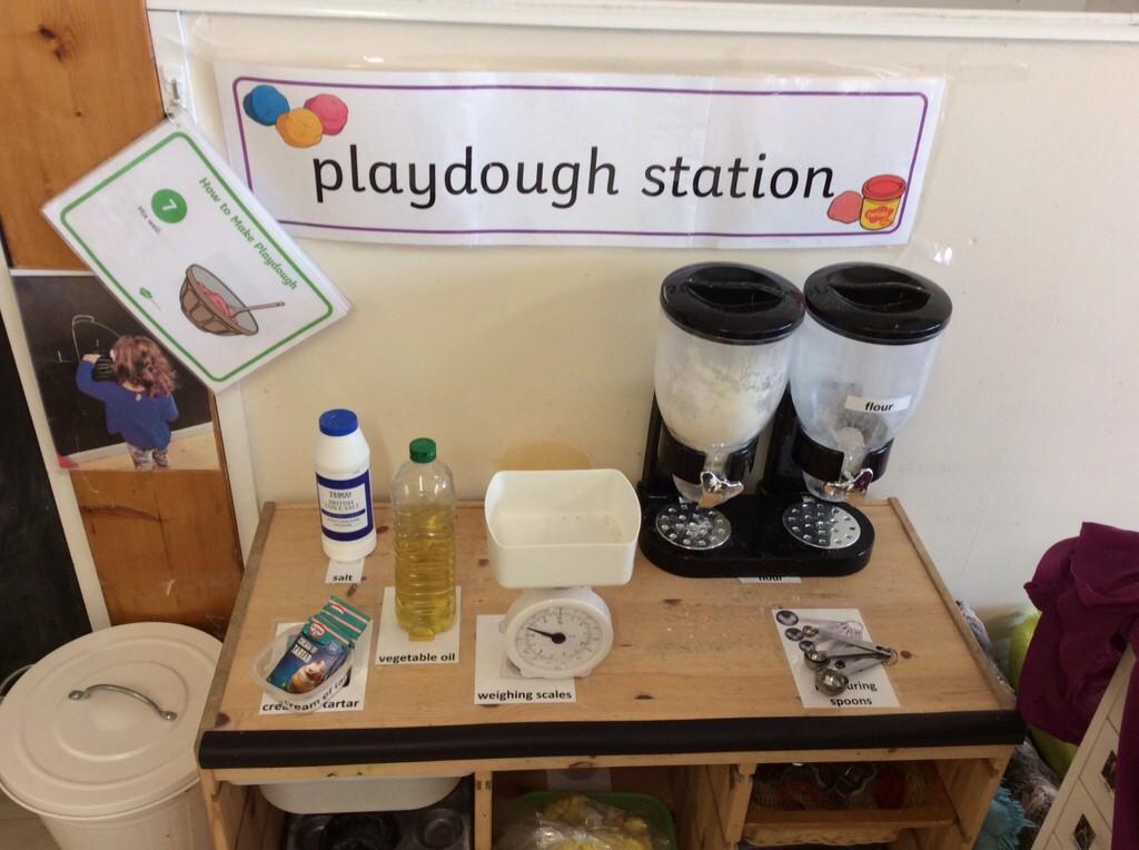 Playdough Station
