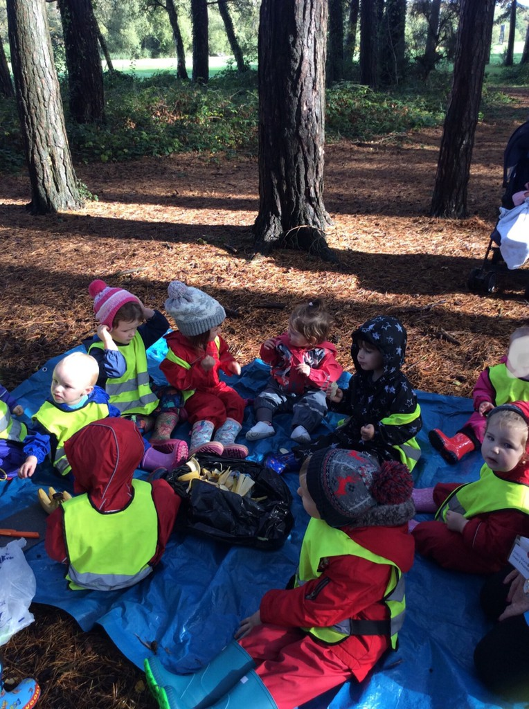 Snack Time in the Gruffalo Woods