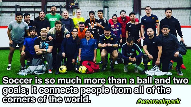 Soccer is so much more than a ball and t