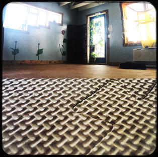 Eco-friendly cush-flooring donated!