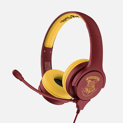 Harry Potter Hogwarts Crest Kids Study headphones