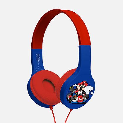 Nintendo Mariokart navy/red Kids essential headphones