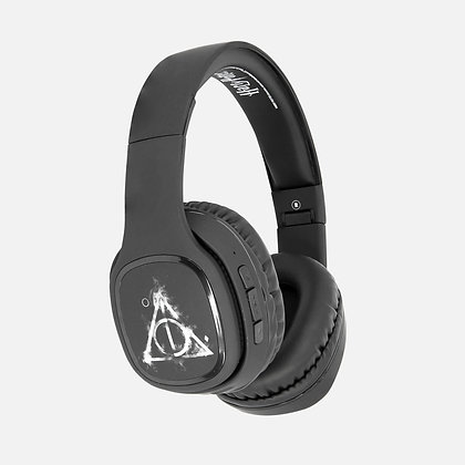Harry Potter smoky Deathly Hallows Wireless folding Headphones