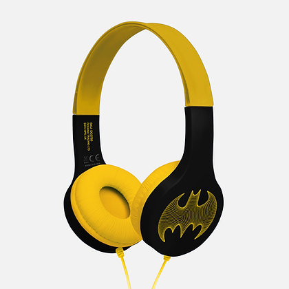 Batman Black/Yellow Kids essential headphones